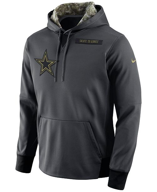 huge discount b4af0 ada7b Nike Men's Dallas Cowboys Salute to Service Hoodie ...