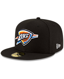 New Era Oklahoma City Thunder Solid Team 59FIFTY Cap