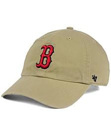 Boston Red Sox Khaki Clean UP Cap