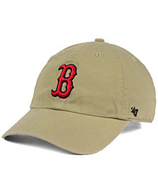 '47 Brand Boston Red Sox Khaki Clean UP Cap