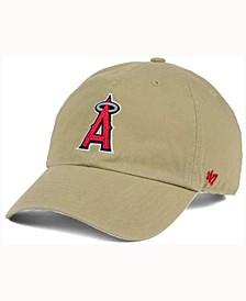 Los Angeles Angels of Anaheim Khaki Clean UP Cap