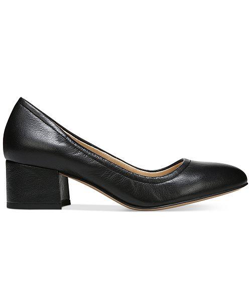 40a7c1b6c490 Franco Sarto Fausta Block-Heel Pumps   Reviews - Pumps - Shoes - Macy s