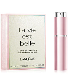 Receive a Complimentary La Vie Est Belle Eau de Parfum Refillable Purse Spray with any $250 Lancôme Purchase
