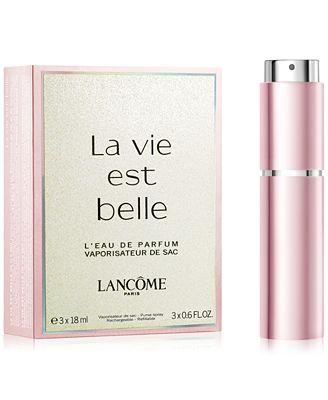 lancôme la vie est belle eau de parfum refillable purse