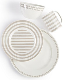 Charlotte Street Grey North Dinnerware Collection