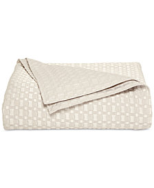 CLOSEOUT! Hotel Collection  Ironwork Quilted Full/Queen Coverlet, Created for Macy's