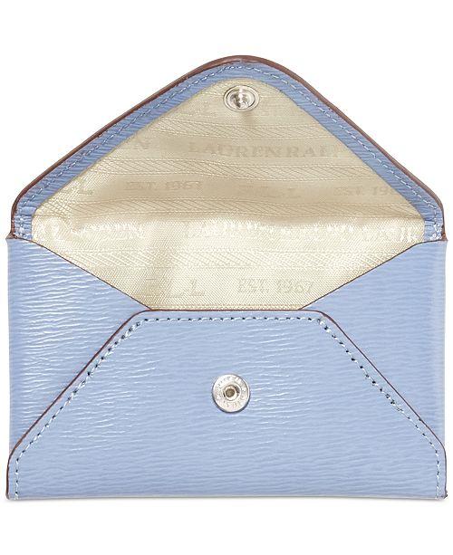 watch be42e aa0f5 Lauren Ralph Lauren Newbury Envelope Card Case & Reviews - Handbags ...