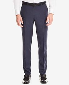 BOSS Men's Regular/Classic-Fit Super 100 Virgin Wool Checked Dress Pants