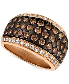 Le Vian Chocolatier® Diamond Band (2-3/8 ct. t.w.) in 14k Rose Gold