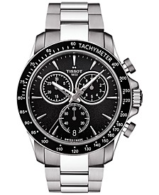 Men's Swiss Chronograph V8 Stainless Steel Bracelet Watch 42mm T1064171105100
