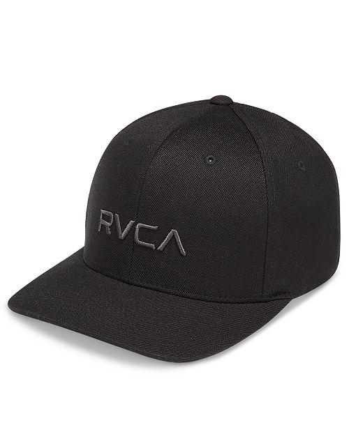 RVCA Men s Flex Fit Hat - Hats 357c183569c1