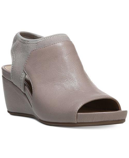 a4e2d1b3345 Naturalizer Cailla Wedge Sandals   Reviews - Sandals   Flip Flops ...