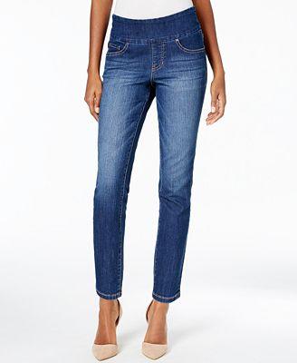 JAG Amelia Ankle Skinny Pull-On Pants
