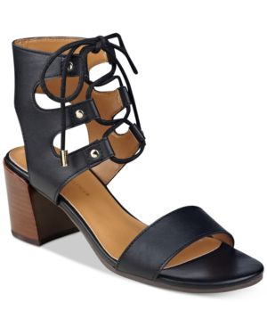 Tommy Hilfiger Cache Lace-Up Sandals Women