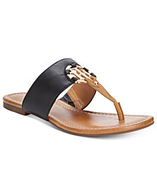 Tommy Hilfiger Sia Slip-On Thong Sandals