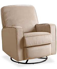 Whelen Nursery Swivel Glider Recliner, Quick Ship