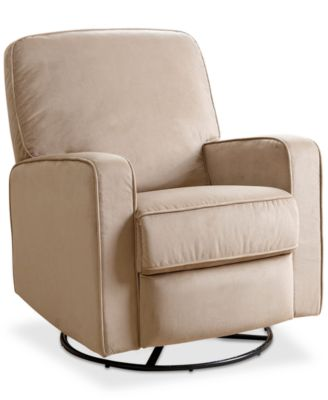 Whelen Nursery Swivel Glider Recliner Quick Ship  sc 1 st  Macyu0027s : glider or recliner for nursery - islam-shia.org