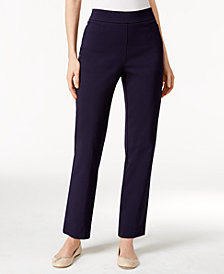 Alfred Dunner Allure Pull-On Slim-Leg Pants