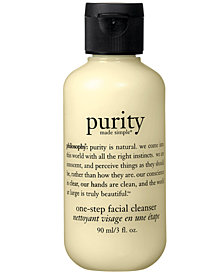 philosophy purity made simple cleanser, 3 oz