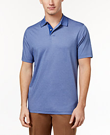 Tasso Elba Men's Classic-Fit Supima® Blend Cotton Polo, Created for Macy's