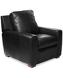 "Lisben 36"" Leather Chair"