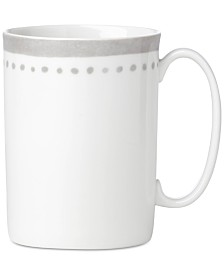 kate spade new york Charlotte Street East Grey Collection Mug