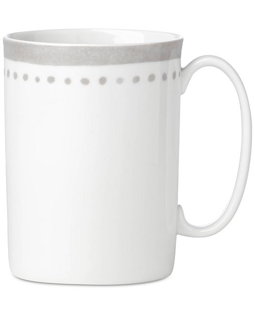 kate spade new york Charlotte Street East Grey Collection Mug