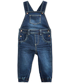 First Impressions Denim Overall, Baby Boys, Created for Macy's