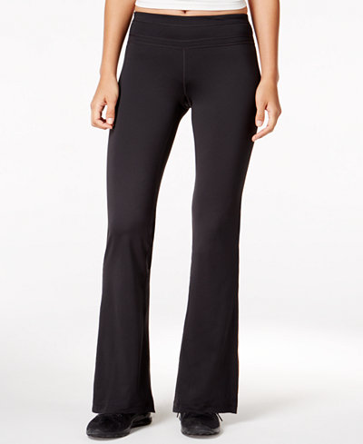 Ideology Rapidry Bootcut Yoga Pants, Created for Macy's - Pants ...