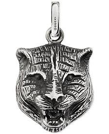 Gucci Men's Gucci Ghost Sterling Silver Feline Charm YBG45527800100U