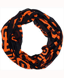Forever Collectibles San Francisco Giants All Over Logo Infinity Wrap Scarf