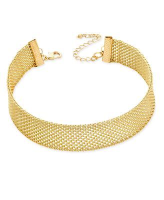 INC International Concepts Mesh Choker Necklace, Only at Macy's