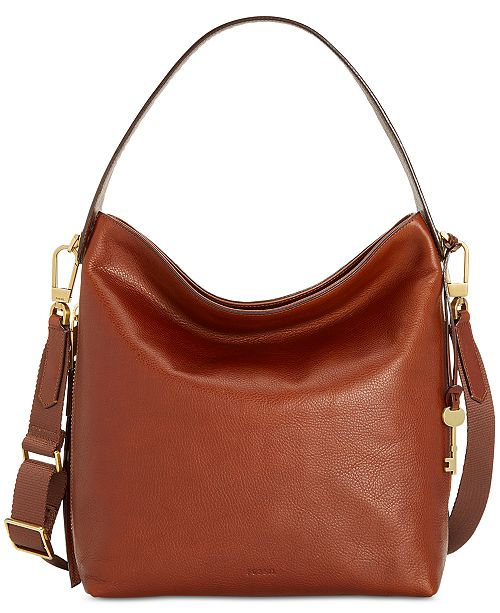 3c50ce561b Fossil Maya Medium Leather Hobo   Reviews - Handbags   Accessories ...