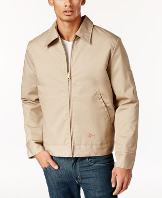 Dickies Men's Ike Lightweight Fully-Lined Twill Work Jacket ...