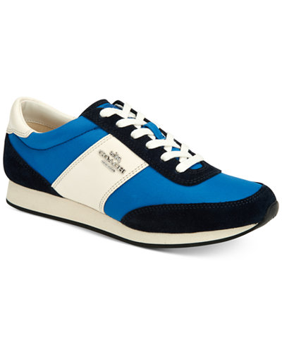 COACH Raylen Lace-Up Sneakers