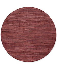 """Bamboo 15"""" Round Placemat"""
