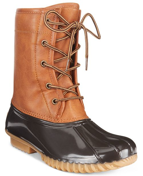 71ae853d8428 The Original Duck Boot Ariel Booties   Reviews - Boots - Shoes - Macy s
