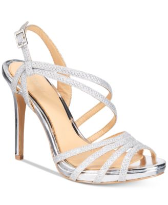 Jewel Badgley Mischka Womens Humble Dress Sandal,