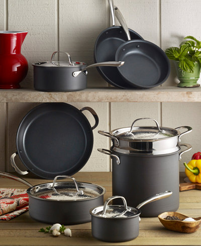 Lagostina Nera Nonstick 12 Pc Cookware Set Created For