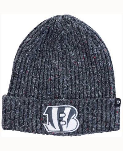 '47 Brand Cincinnati Bengals NFL Back Bay Cuff Knit Hat