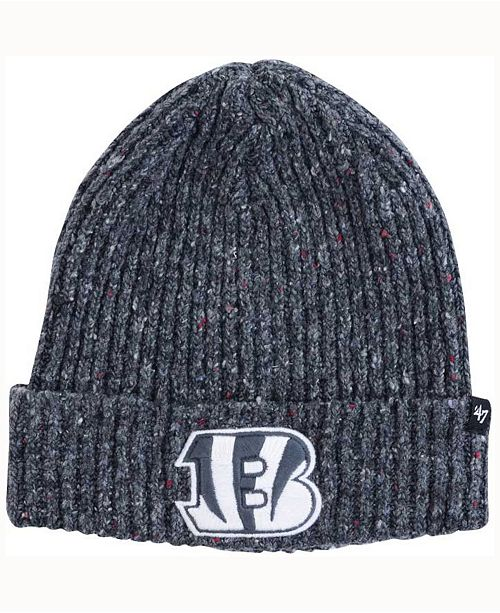 '47 Brand Cincinnati Bengals NFL  Back Bay Cuff Knit Hat