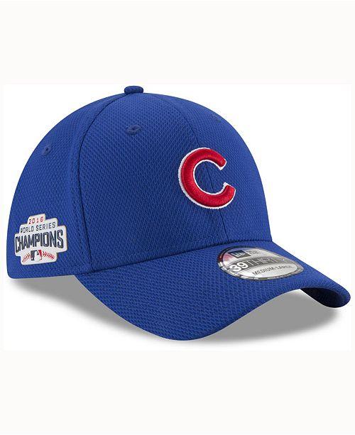 dc35283c800f9 ... New Era Chicago Cubs World Series Locker Room 39THIRTY Cap ...
