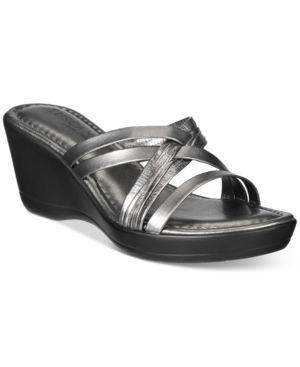 Easy Street Tuscany Luisa Wedge Sandals Women