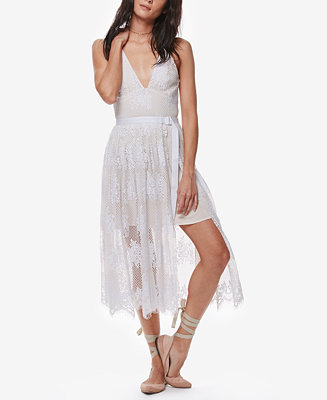 Free People Matchpoint Lace Midi Dress Dresses Women