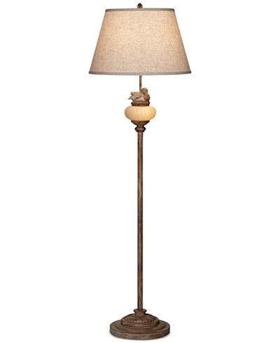 Pacific coast duckling glow floor lamp lighting lamps for Macy s torchiere floor lamp