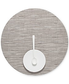 "Bamboo 15"" Round Placemat"