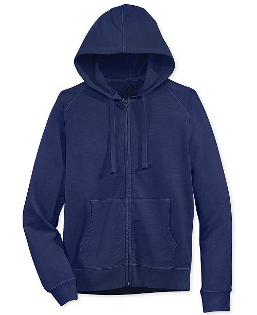 American Rag Men's Washed Zip Lightweight Hoodie, Created for Macy's