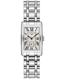 Women's Swiss Dolcevita Stainless Steel Bracelet Watch 23x37mm L55124716