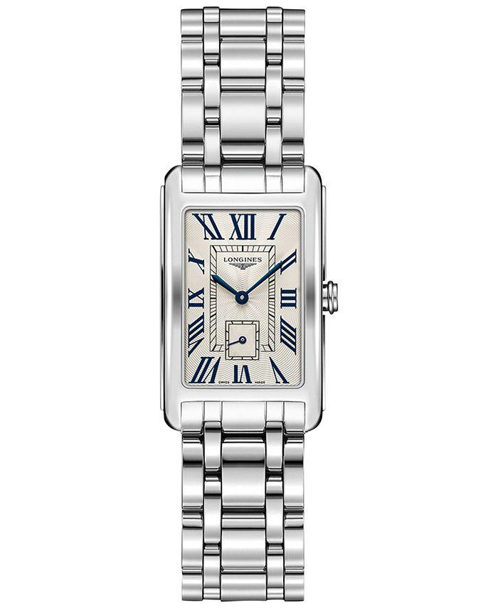 Longines - Women's Swiss Dolcevita Stainless Steel Bracelet Watch 23x37mm L55124716