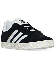 adidas Big Boys' Gazelle Casual Sneakers from Finish Line